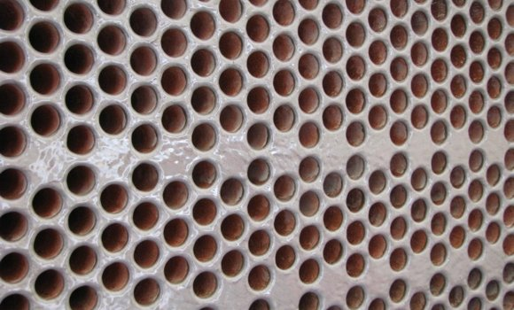 Tube Sheet & Water Box Cladding - With blygold